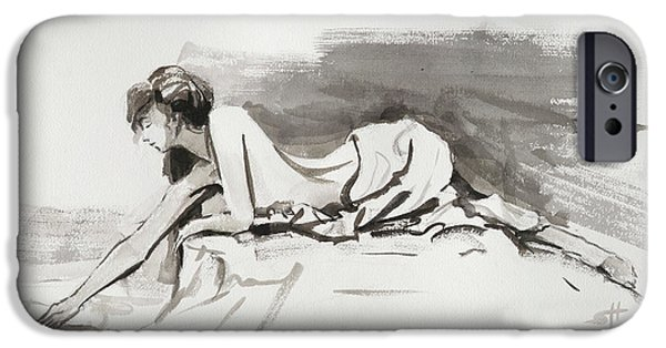 Nude Figurative iPhone 6 Case - Introspection by Steve Henderson