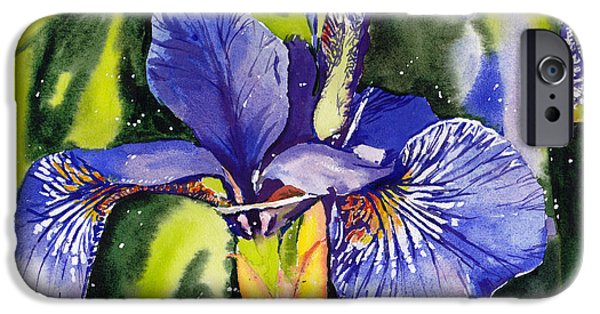 Smoothie iPhone 6 Case - Iris In Bloom by Suzann Sines
