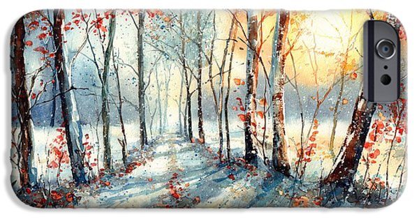 Village iPhone 6 Case - Last Leaves by Suzann Sines
