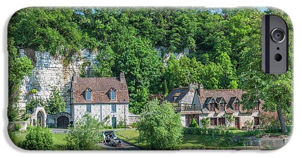 Jet Ski iPhone 6 Case - Limestone Buildings, Along Seine River by Lisa S. Engelbrecht