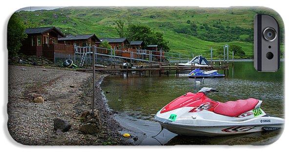 Jet Ski iPhone 6 Case - Loch Ski  by Rob Hawkins