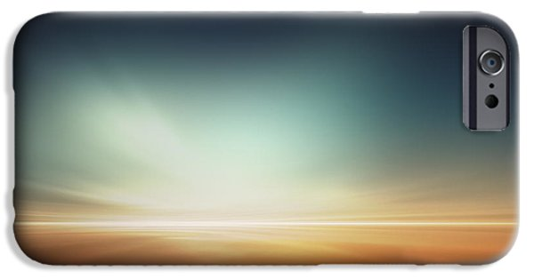 Illusion iPhone 6 Case - Mars Desert Like Fantasy Landscape by Pixelparticle