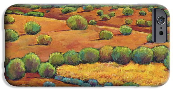 Colorful iPhone 6 Case - Midnight Sagebrush by Johnathan Harris