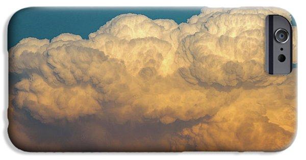 Nebraskasc iPhone 6 Case - Nebraska Sunset Thunderheads 053 by NebraskaSC