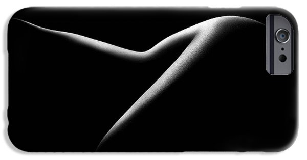 Nude Figurative iPhone 6 Case - Nude Woman Bodyscape 15 by Johan Swanepoel