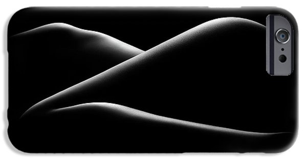 Nude Figurative iPhone 6 Case - Nude Woman Bodyscape 17 by Johan Swanepoel