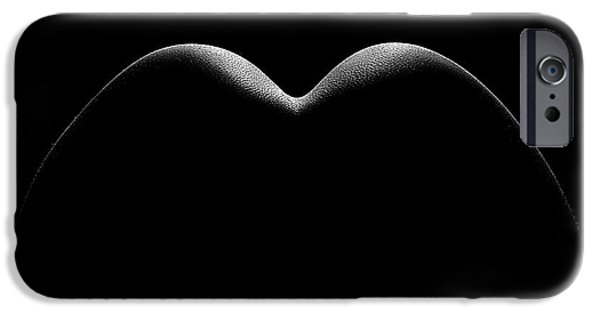 Nude Figurative iPhone 6 Case - Nude Woman Bodyscape 8 by Johan Swanepoel