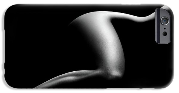 Nude Figurative iPhone 6 Case - Nude Woman Bodyscape 9 by Johan Swanepoel