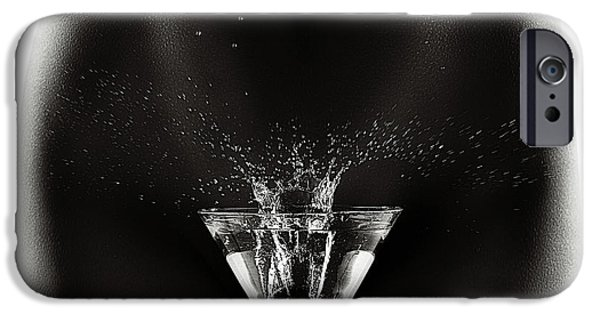 Nude Figurative iPhone 6 Case - Nude Woman With Martini Splash by Johan Swanepoel