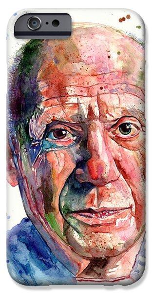 20th iPhone 6 Case - Pablo Picasso Portrait by Suzann Sines