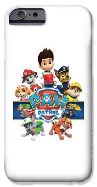 paw patrol iphone 6 case