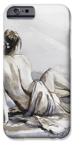 Figurative iPhone 6 Case - Relaxed by Steve Henderson