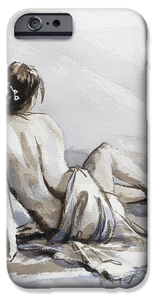 Nude Figurative iPhone 6 Case - Relaxed by Steve Henderson