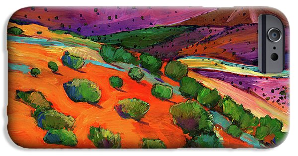 Colorful iPhone 6 Case - Sage Slopes by Johnathan Harris