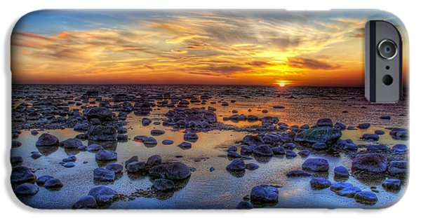 Illusion iPhone 6 Case - Sea Stones At Sunset by Deniss Dronin
