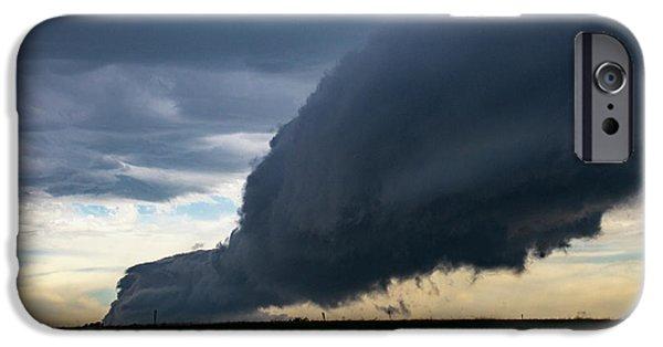 Nebraskasc iPhone 6 Case - September Thunderstorms 003 by NebraskaSC