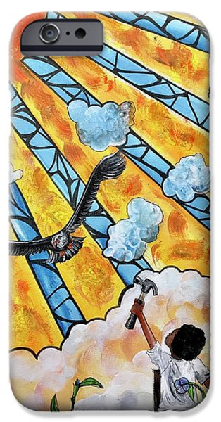 iPhone 6 Case - Shattered Skies by Artist RiA