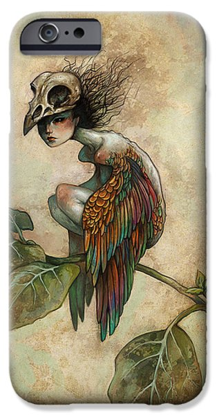 Colorful iPhone 6 Case - Soul Of A Bird by Caroline Jamhour