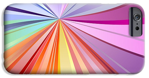 Illusion iPhone 6 Case - Spectrum Background by Osov