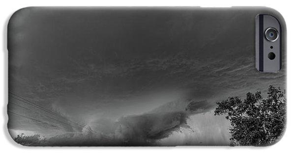 Nebraskasc iPhone 6 Case - Storm Chasin In Nader Alley 007 by NebraskaSC