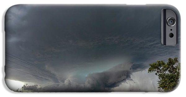 Nebraskasc iPhone 6 Case - Storm Chasin In Nader Alley 008 by NebraskaSC