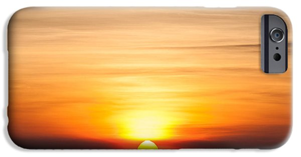 Early iPhone 6 Case - Sunrise In The Morning, Sunrise With by Fototrips