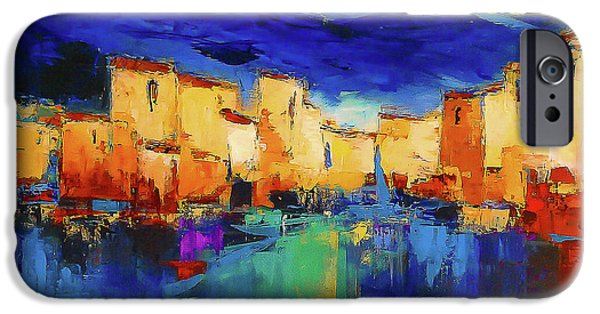 Village iPhone 6 Case - Sunset Over The Village by Elise Palmigiani