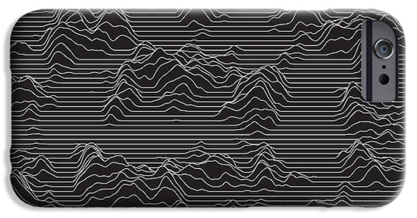 Illusion iPhone 6 Case - Vector Striped Background. Abstract by Garrykillian