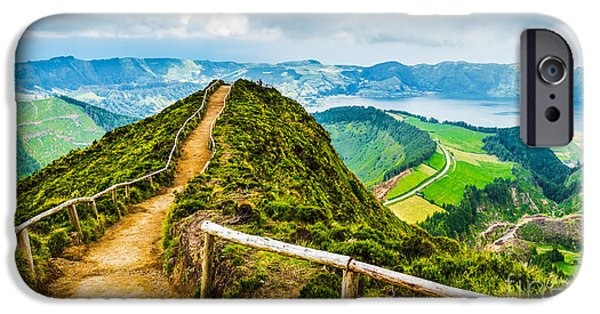 Early iPhone 6 Case - Walking Path Leading To A View On The by Vicky Sp
