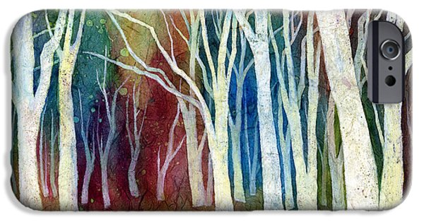 Tree iPhone 6 Case - White Forest I by Hailey E Herrera