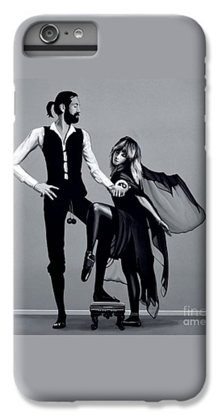Fleetwood Mac IPhone 6 Plus Case by Meijering Manupix