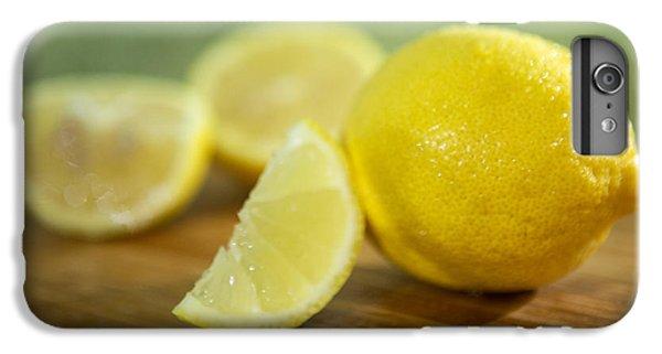 Lemon Citrus Limon Zitronen IPhone 6 Plus Case by Iris Richardson