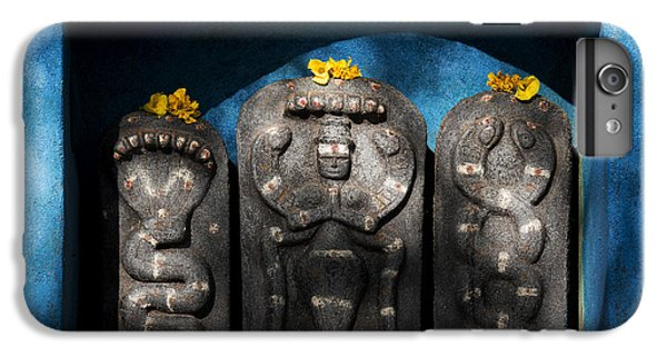 Rural Indian Hindu Shrine  IPhone 6 Plus Case by Tim Gainey