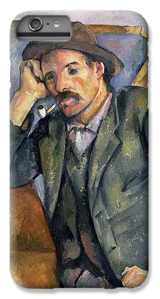 The Smoker IPhone 6 Plus Case by Paul Cezanne