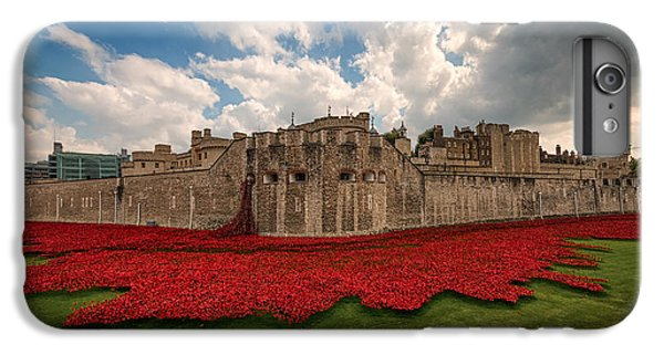 Tower Of London iPhone 6 Plus Case -   Tower Of London Remembers.  by Ian Hufton