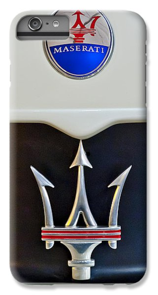 2005 Maserati Mc12 Hood Emblem IPhone 6 Plus Case