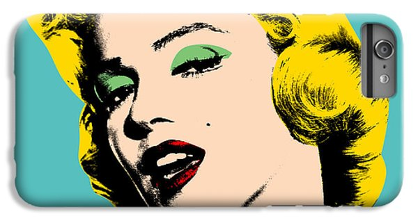 Andy Warhol IPhone 6 Plus Case by Mark Ashkenazi