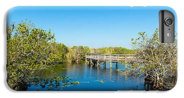 Anhinga iPhone 6 Plus Case - Anhinga Trail Boardwalk, Everglades by Panoramic Images