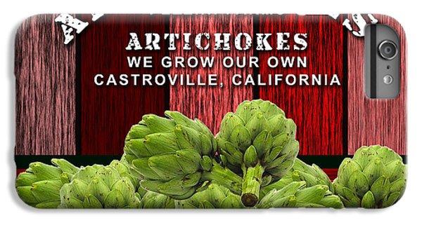 Artichoke iPhone 6 Plus Case - Artichokes Farm by Marvin Blaine