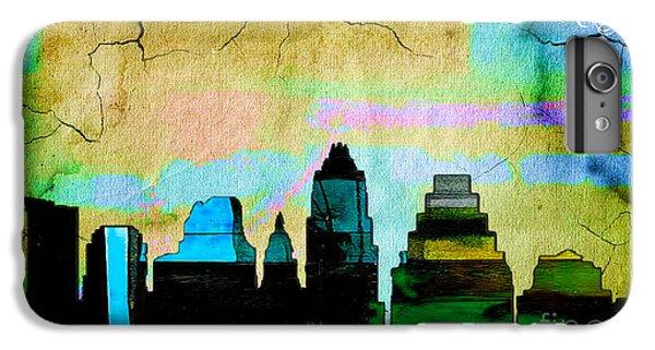 Austin Skyline Watercolor IPhone 6 Plus Case