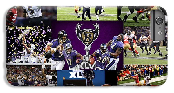 Baltimore Ravens IPhone 6 Plus Case by Joe Hamilton