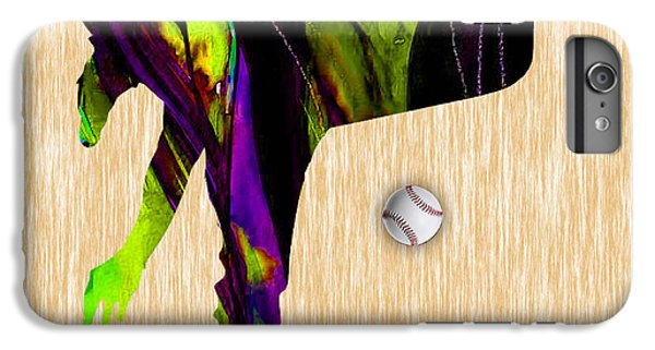 Baseball Pitcher IPhone 6 Plus Case by Marvin Blaine