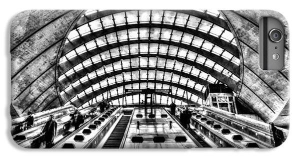 Canary Wharf Station IPhone 6 Plus Case by David Pyatt