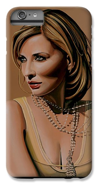 Elf iPhone 6 Plus Case - Cate Blanchett Painting  by Paul Meijering