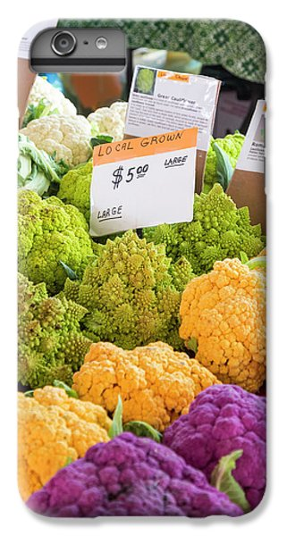 Cauliflower Market Stall IPhone 6 Plus Case by Jim West
