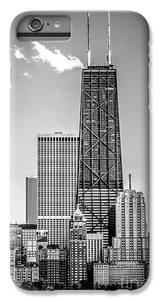 Chicago Hancock Building Black And White Picture IPhone 6 Plus Case by Paul Velgos