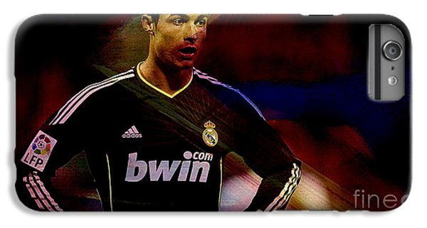 Cristiano Ronaldo IPhone 6 Plus Case by Marvin Blaine