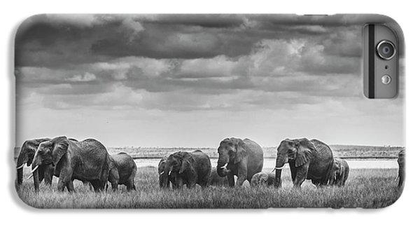Africa iPhone 6 Plus Case - Elephant Family by Vedran Vidak