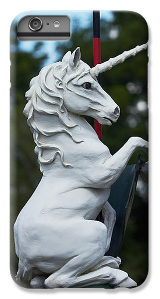 Unicorn iPhone 6 Plus Case - Fantasy Beast At Tudor Gardens by David Wall