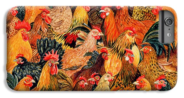 Fine Fowl IPhone 6 Plus Case by Ditz